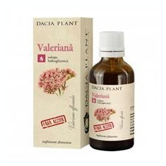 Valeriana fara Alcool Dacia Plant 50ml Cod: 24439