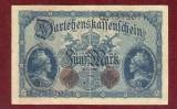 Bancnota Germania  - FUNF MARK  - 5 MARK  1914