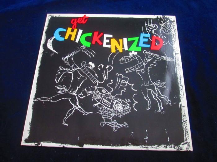 Frank Chickens - Get Chickenized _ vinyl,LP _ Femme Music (1987, Germania)