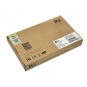 Mini tastatura wireless smart tv, pc, tableta, xbox 360, ps3, cu touchpad rii x1