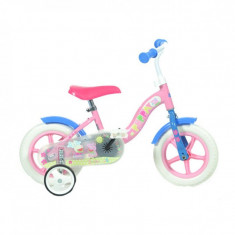 Bicicleta pentru copii Dino Bikes, diametru roti 25 cm, model Purcelusa Peppa