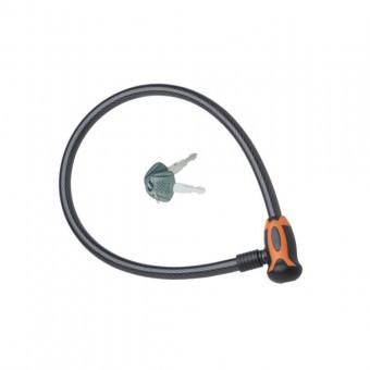 Antifurt pentru bicicleta cu cheie, Strend Pro Zoli 84354, 8 mm x 65cm