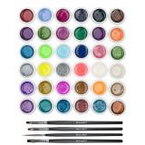 Cumpara ieftin Set 36 geluri UV Color cu Sclipici ENS PRO + CADOU, Fraulein38