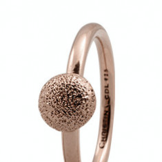 Inel Shine, Argint 925 placat cu aur rose 18K, Masura 51