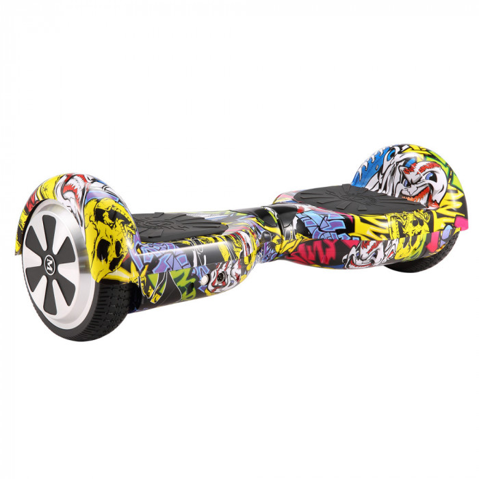 Hoverboard Electric , Megawheels, Hip-Hop , Autonomie 15 km, Viteza max. 10km H