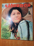 sateanca noiembrie 1971-articol si foto comuna peris,murighiol,pecieaga si sibiu