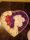 Aranjament trandafiri de săpun