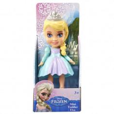 Figurina Mini Frozen Elsa, 8 cm, 3 ani+