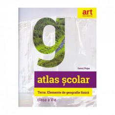 Atlas geografic scolar, Clasa a V-a - Ionut Popa