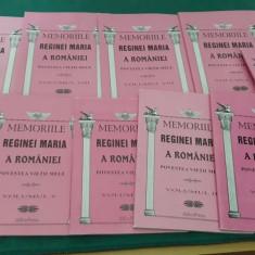 MEMORIILE REGINEI MARIA A ROMÂNIEI *POVESTEA VIEȚII MELE/ 8 VOLUME/ 2012