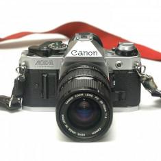 Canon AE-1 Program cu obiectiv Canon FD 35-70mm f4