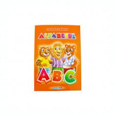 Carte de colorat educativa: alfabet, B5 16 pagini Eurobookids