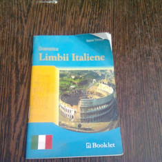 GRAMATICA LIMBII ITALIENE - ILEANA TANASE