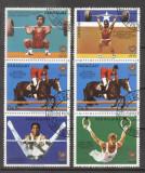 Paraguay 1986 Sport, Olympics, 2 strip, used AF.009