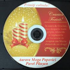 PAVEL PĂUŞAN şi AURORA MOGA-POPOVICI - Colinde de Crăciun (Audio-CD)