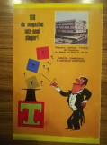 1977, Reclama Magazinul Universal TOMIS, comunism 19x12 cm CONSTANTA