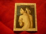 Timbru Franta 1967 Pictura - Ingres - Nud ,stampilat
