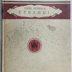 CAMIL PETRESCU - VERSURI: IDEIA. CICLUL MORTII (volum de debut, 1923)