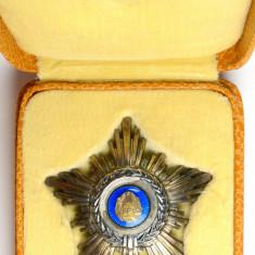 Ordinul/ Decoratia Steaua Romaniei, RPR, clasa IV, Argint marcat