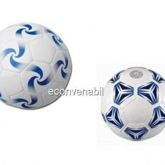 Minge de fotbal din piele sintetica gonflabila