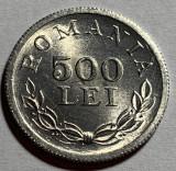 500 Lei 1946 Aluminiu, Romania, a UNC, Luciu de batere