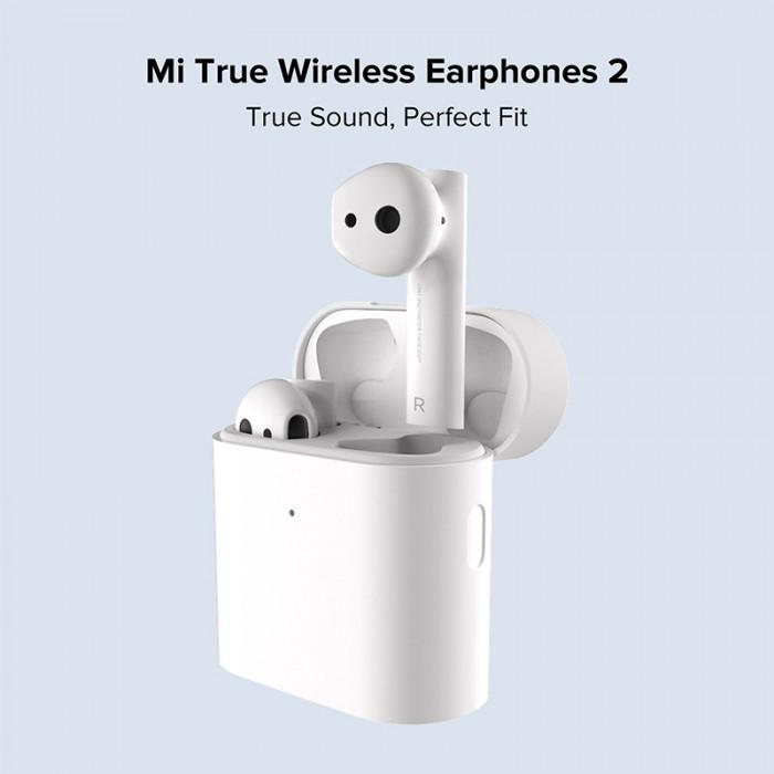 Casti bluetooth Xiaomi Mi True Wireless Earphones 2 Alb, Noi Sigilate.