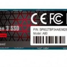 SSD Silicon Power P34A80, 512GB, M.2 PCIe Gen3 x4 NVMe