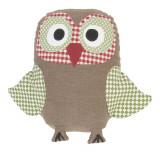 Decoratiune textila Owl 15 x 21 cm, Clayre & Eef