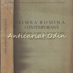 Limba Romana Contemporana. Manual - Iorgu Iordan