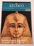 *DD- Revista arheologie Archeo in italiana, nr. 10/2002