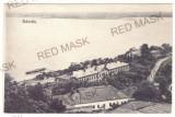4319 - BAZIAS, Caras-Severin, Railway Station, harbor - old postcard - unused