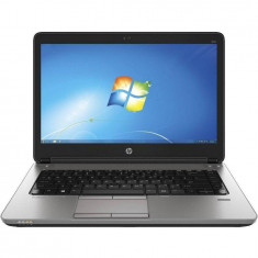 Laptop HP Refurbished ProBook 640 G1 14 inch HD Intel Core i5-4210U 4GB DDR3 500GB HDD Windows 10 Home Black Silver