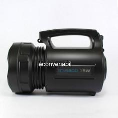 Lanterna Profesionala LED 15W cu Acumulator 4V TD5800