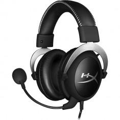 Casti Audio Cloud Gaming Argintiu