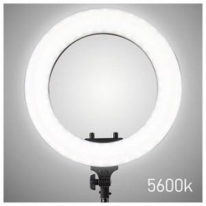 Lampa circulara RL 12 Trepied pentru Make UP cu Lumina LED Reglabila