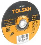 Disc abraziv cu centru coborat (piatra) 180x6x22 mm, 76325