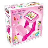 Masuta pupitru pentru copii Handy Pink