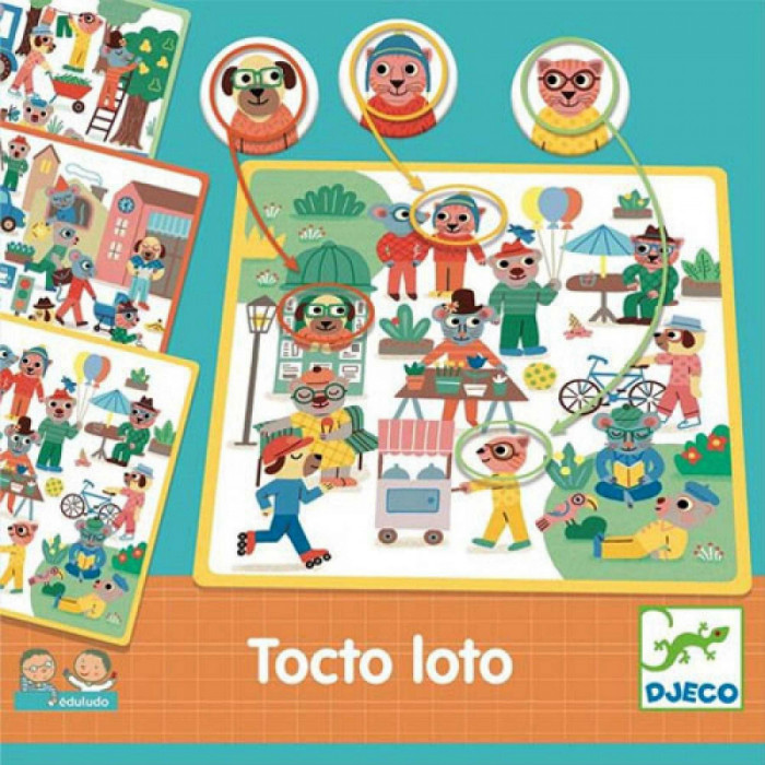 Eduludo Tocto - joc de vocabular