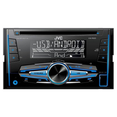 RADIO CD PLAYER 2DIN 4X50W KW-R520 JVC EuroGoods Quality foto