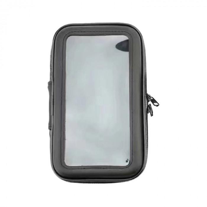 Suport Telefon Bicileta Universal Rezistent la Apa XL (Negru)