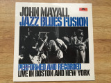 JOHN MAYALL - JAZZ BLUES FUSION (1972,POLYDOR,UK) vinil vinyl