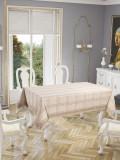 Față de masă Valentini Bianco , model Botanic Cappucinno