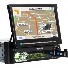 DVD 1din MP3/mp5 player auto retractabil,naviga?ie h?r?i 2019