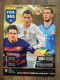 Album stickere Panini FIFA 365 2016 partial completat (147 stickere), editia RO
