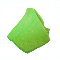 Laveta microfibra Fevex 40x40 cm, fibra lunga, verde