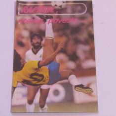 Program-supliment meci fotbal ROMANIA`70-RAPID`72(retragere Lita Dumitru)