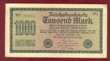 Bancnota Germania  -  REICHSBANKNOTE   - 1.000 MARK  1922  #2