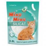 Asternut Silicat Miau-Miau 3.8 L