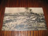 A992-Constantinopole- Pont de Stamboul-carte postala veche anii 1912 stare buna.