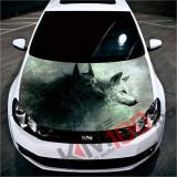 """Sticker Imprimat Color pentru Capota """"Hood Art"""" cod: KM-HOOD-07"""